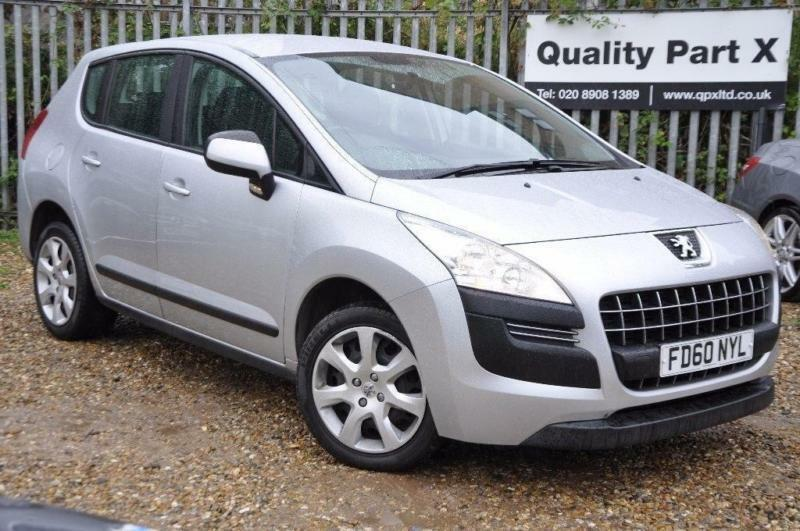 2011 Peugeot 3008 1.6 HDi FAP Active SUV 5dr