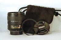Lentille Nikon 18-70mm Nikkor Lens