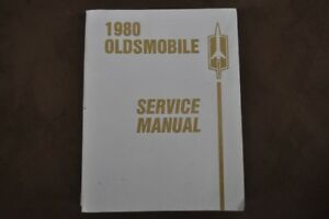 1980 Oldsmobile Factory Service Manual