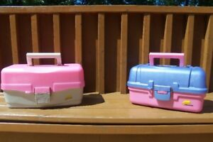 2---PLANO Fishing Tackle Boxes-- Like New condition!