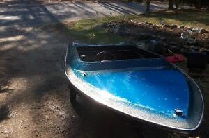Blue speed boat project