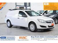 2012 62 VAUXHALL ASTRA 1.7 CLUB ECOFLEX 1D 108 BHP DIESEL CAR DERIVED VAN