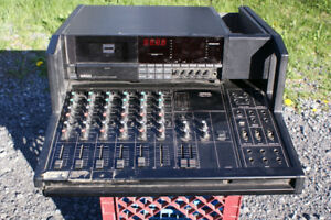 Yamaha MT44D 4 track Cassette deck and 6 track mixing console
