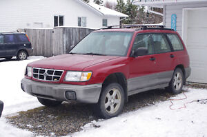 1998 Subaru Forester - Panels, Doors, Seats, Suspension, etc.