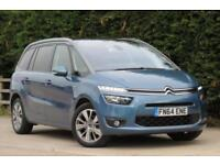 CITROEN C4 PICASSO 1.6 GRAND E-HDI AIRDREAM EXCLUSIVE PLUS 5D 113 BHP 2014/ 64