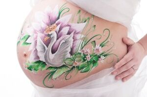 Belly Painting / maquillage bedaine Saint-Hyacinthe Québec image 8