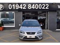 2007 07 FORD FOCUS 2.5 ST-2 5D 225 BHP 5 DR 6 SP SPORTY HATCH SH 6 STAMPS SILVER