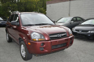 2009 Hyundai Tucson GLS, SUV, Only 94K, E-Certified, Finance OK.