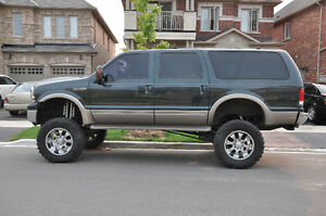 SOLD - Lifted 2000 Ford Excursion, Crossover 7.3 L Diesel- SOLD