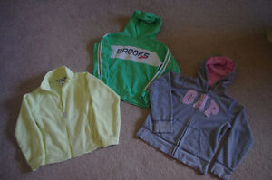 Girl's Brand Name Hoodies Size 10-12,Very Good Condition