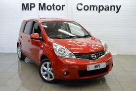 2009 09 NISSAN NOTE 1.4 N-TEC 5D 87 BHP 5DR 5SP MPV,RED,47,000M,MOST SH,7 STAMPS