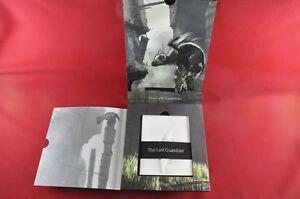 The-Last-Guardian-Press-Kit-RARE-English-Fumito-Ueda-Letter-incl-PlayStation-4