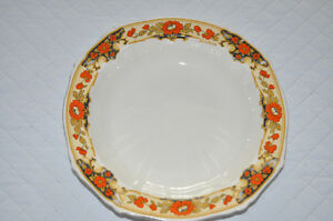 ALFRED MEAKIN CHINAWARE SOUP BOWLS (3) (England)