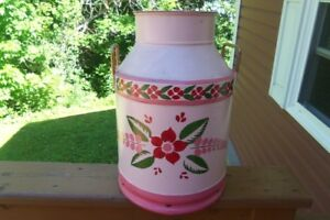 "Vintage Milk Can--20"" High!"