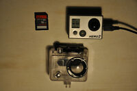 GoPro Hero2 + Waterproof Case + 16GB SD Card