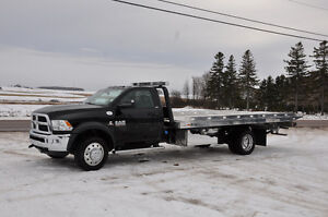 two car carrier Tow truck