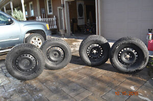 Winter tires and Rims for 2014 Jeep Wrangler