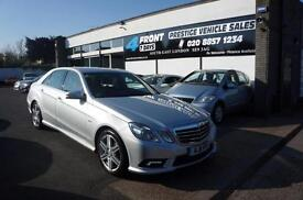 2011 MERCEDES E-CLASS E200 CDI BLUE EFFICIENCY 2.1 DIESEL AUTO SPORT SALOON 4 DO