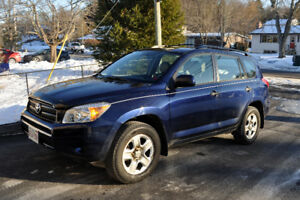 Toyota Rav4 2007 Low Kilometers, well maintained