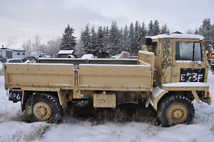 bedford army trucks trade for fifth wheel or travel trailer