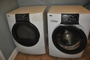 front load washing machine and matching dryer