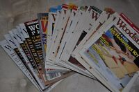FINE WOODWORKING & WOODSMITH MAGAZINES x27