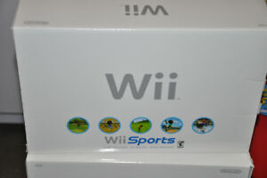 New Nintento Wii still in box