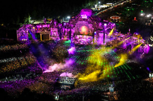 Tomorrow Land Weekend One Full Madness Pass VIP with Hotel for 2