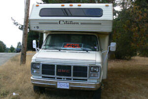 Reliable GMC 22.5ft Motorhome