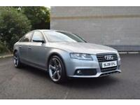 2008 AUDI A4 2.143 CR TDI 143 BHP SE BLACK EDITION-FULL-BLACK LEATHER DIESEL