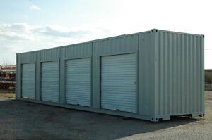 40' Shipping Container with 4 roll up doors Mini Storage