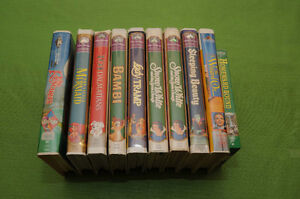 10 Walt Disney Movies on VHS - Best Offer