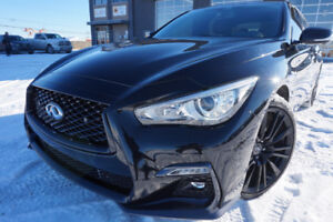 INFINITI Q50S 2017 3.0L REDSPORT 400HP LIKE BRAND NEW!!! 33995$