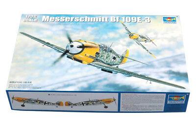 Trumpeter 9362288 Messerschmitt Bf 109E-3 1:32 Kampfflugzeug Modellbausatz