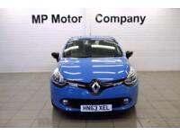 2013 63 RENAULT CLIO 1.1 DYNAMIQUE MEDIANAV 5D 75 BHP 5DR 5SP HATCH,BLUE,41,000M