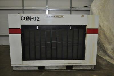 75 Hp Gardner Denver Electra Saver Ii Rotary Screw Air Compressor 100 Psig Full