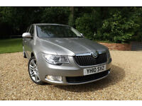 2010 Skoda Superb 2.0TDI CR 170 DSG Elegance FSH 55 MPG CHEAP TAX SAT NAV XENONS