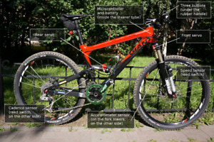 All around Mountain Bike with Dual Lockout Suspension