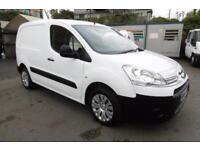 2014 CITROEN BERLINGO 850 ENTERPRISE 3-SEAT L1 1.6 HDI 90 IN WHITE 1 OWNER WITH