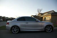 2009 BMW 1-Series 135i Msport AUTO NAV Silver Coupe (2 door)