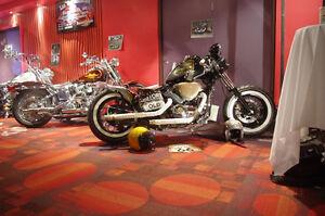 Rat bobber Kawasaki Vulcan
