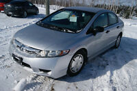 2010 Honda Civic DX-G manuel LOADED Sedan
