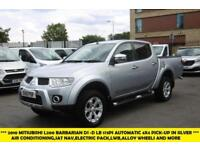 2010 MITSUBISHI L200 DI-D 4X4 BARBARIAN LB DCB AUTOMACTIC WITH AIR CONDITIONING,