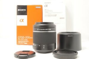 Sony DT 55-200mm f/4-5.6    SAM Lens  A-Mount