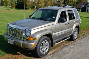2006 Jeep Liberty limited edition SUV, Crossover