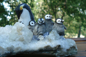Hand Crafted Penguin Family Peterborough Peterborough Area image 2
