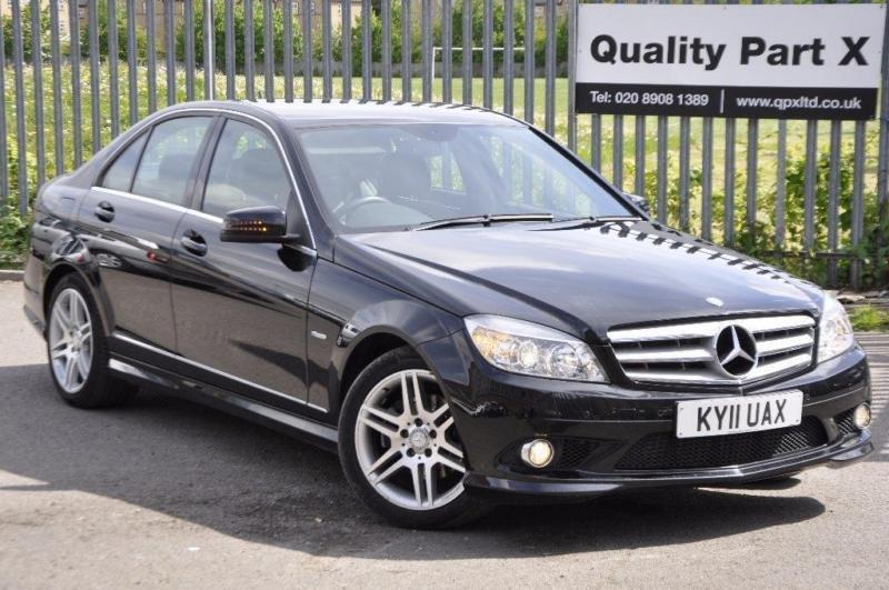 2011 mercedes benz c class 2 1 c220 cdi blueefficiency sport 4dr in wembley london gumtree. Black Bedroom Furniture Sets. Home Design Ideas
