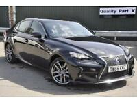 2015 Lexus IS 300 2.5 F Sport E-CVT 4dr