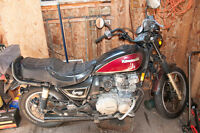 82 Kawasaki Spectre and motorcycle jack for sale