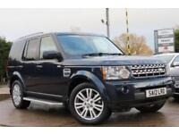 LAND ROVER DISCOVERY 3.0 4 SDV6 XS 255 BHP DIESEL 2012 12 BLUE AUTOMATIC